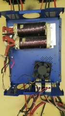 Cleaning the fans board and transformer