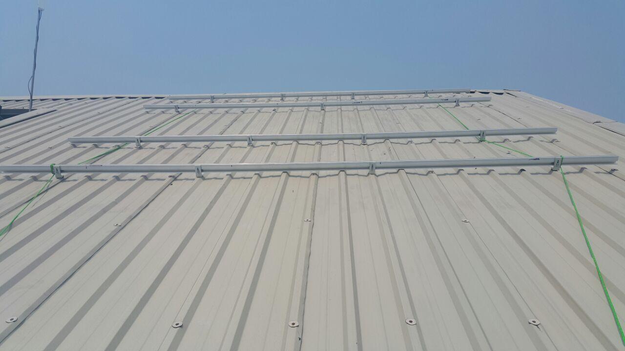 solar roof rack