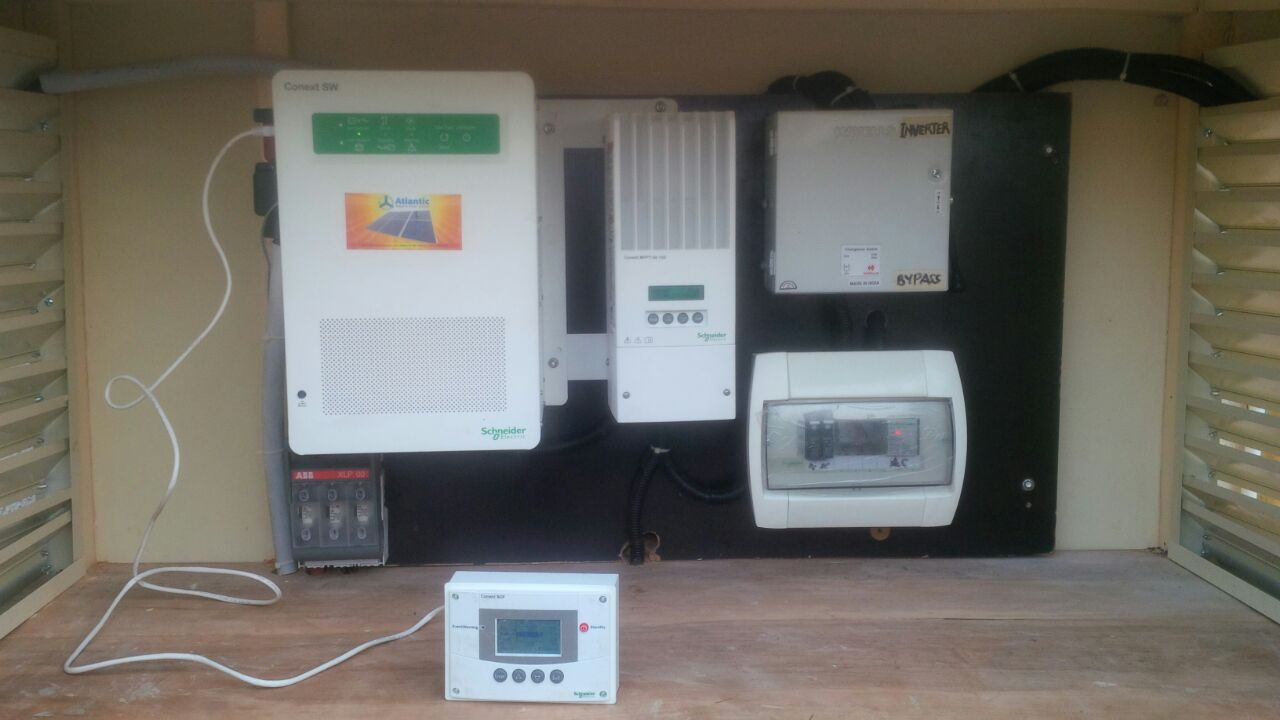 Conext SCP Shneider Electric, ABB