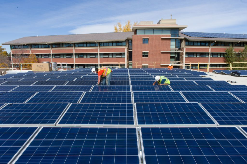 College seeks investment in solar energy
