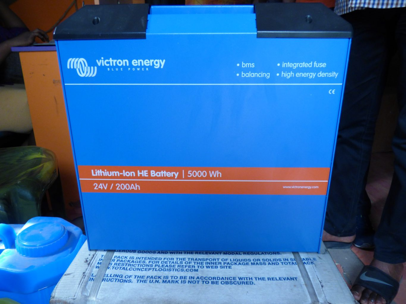 Lithium Ion Solar battery